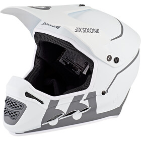 SixSixOne Reset Casque intégral, tundra white
